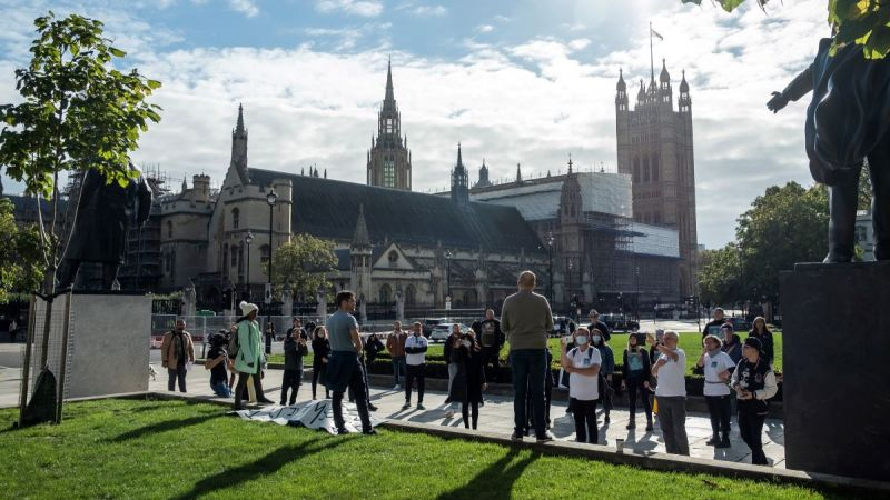A rally was held at Parliament Square.jpg