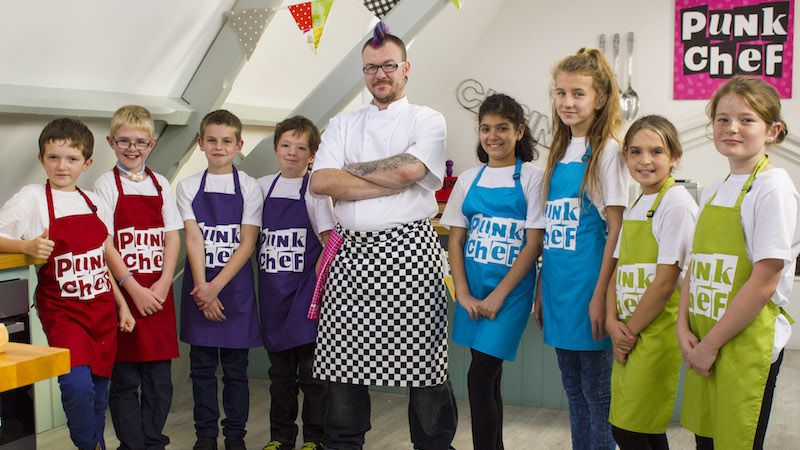 Punk Chef: Kids Challenge: Behind the scenes
