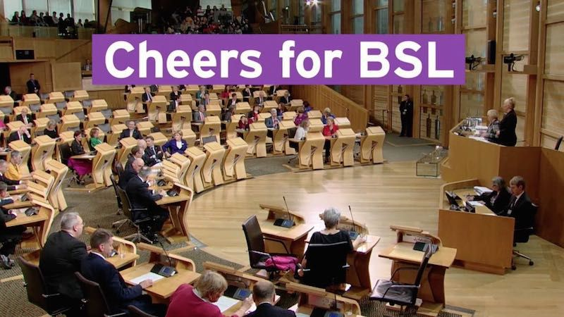 Cheers for BSL