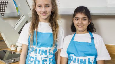 Team profile: The Blue team from Punk Chef: Kids Challenge!