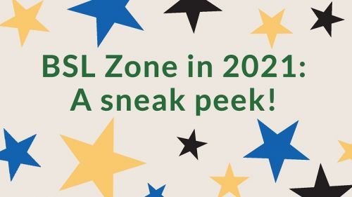 What's on BSL Zone in 2021?