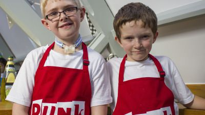 Team profile: The Red team from Punk Chef: Kids Challenge!