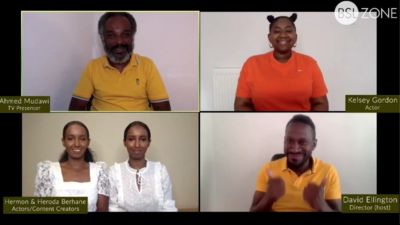 Live stream 22: 1st July 2020 (Black Lives Matter and Black Deaf media representation)