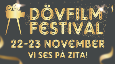 The End and Dot at Dövfilm Festival in Sweden!