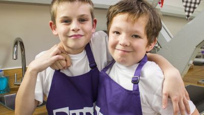 Team profile: The Purple team from Punk Chef: Kids Challenge!